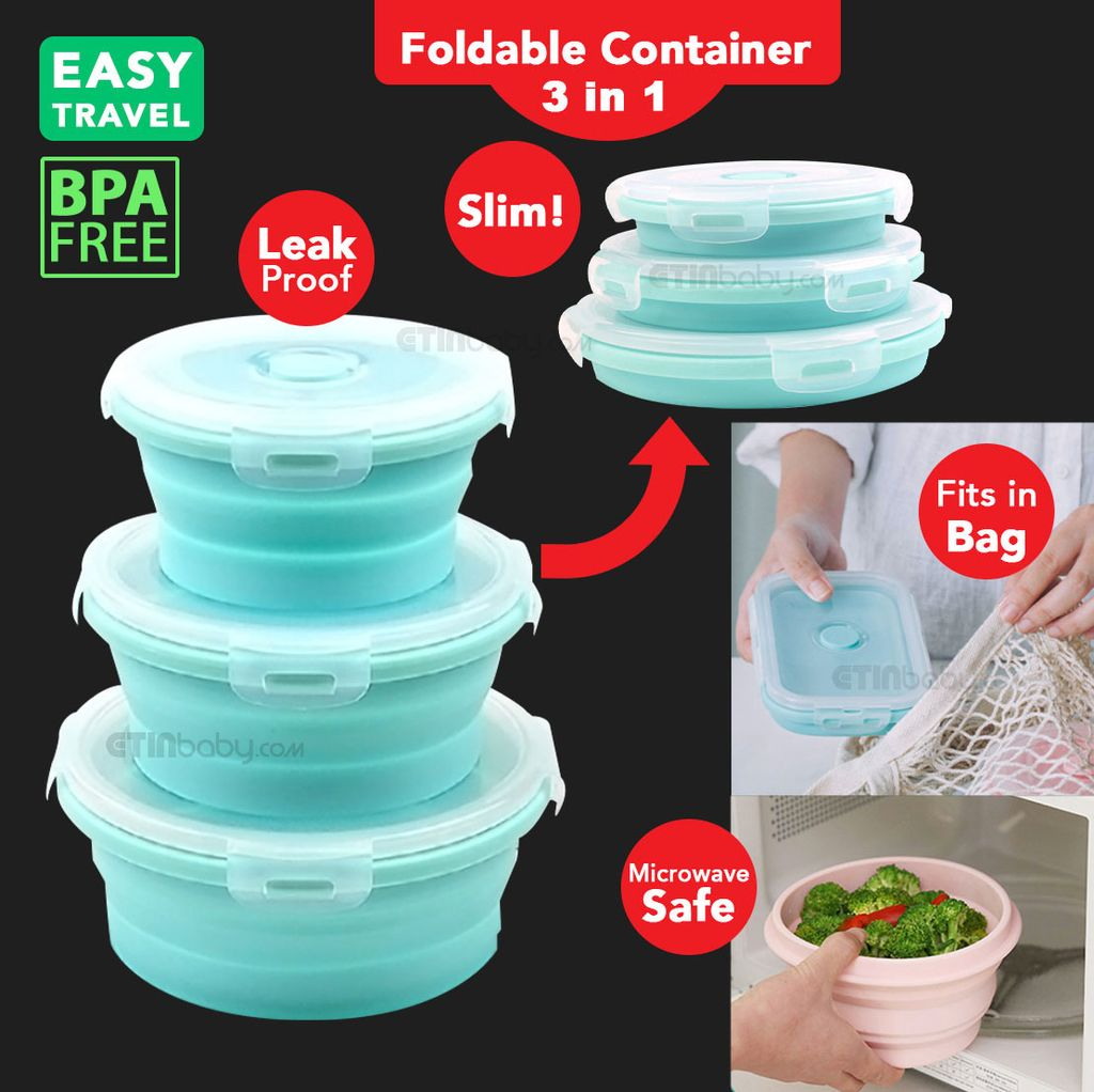 SKU Etin 3 in 1 Round Foldable Container mint.jpg