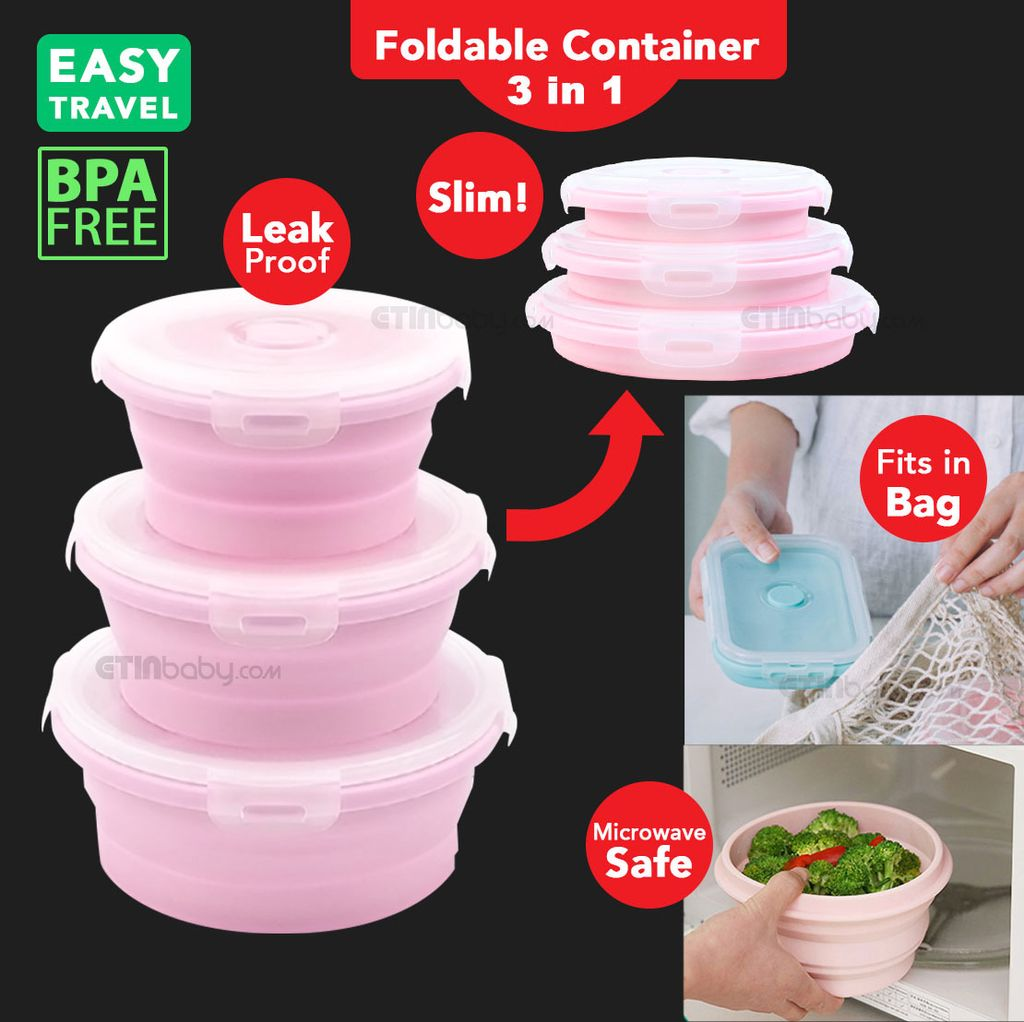 SKU Etin 3 in 1 Round Foldable Container pink.jpg