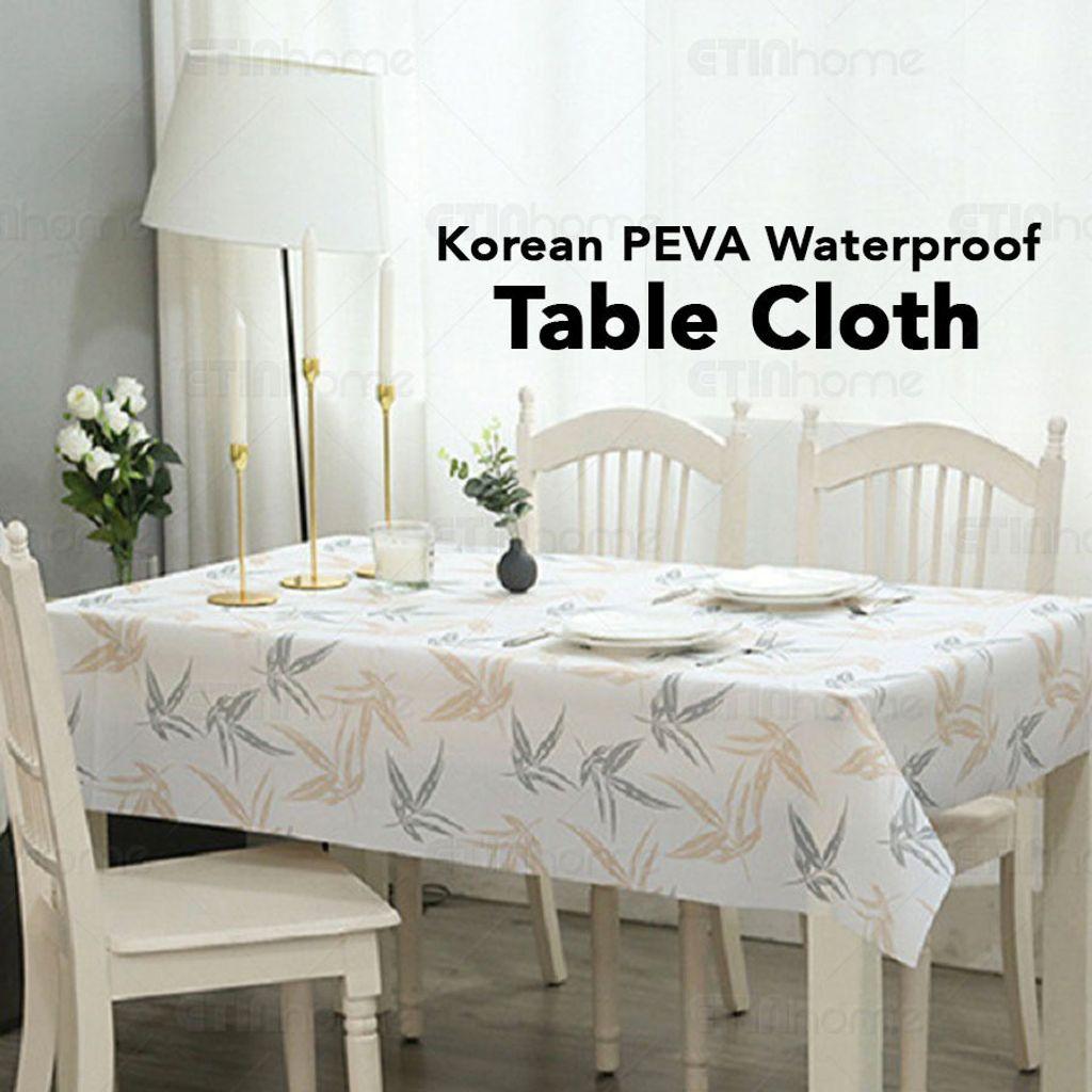 Korean PEVA Waterproof Table Cloth FB 01.jpg