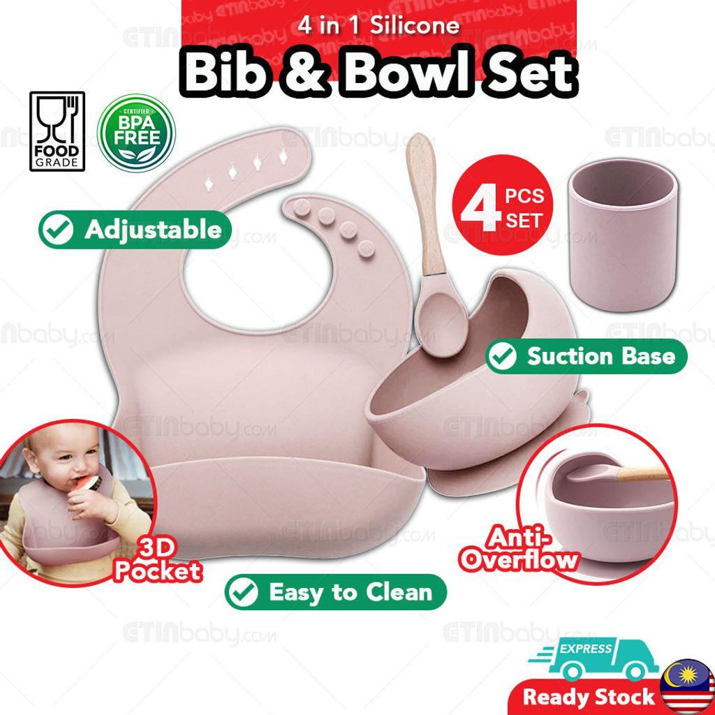 SKU EB 3 in 1 Silicone Bib & Bowl Set-2 light pink copy.jpg