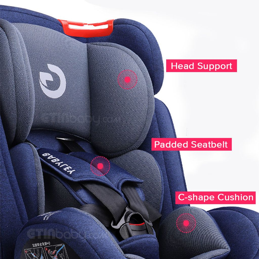 Babyley Convertible Car Seat with Isofix & Latch 08.jpg