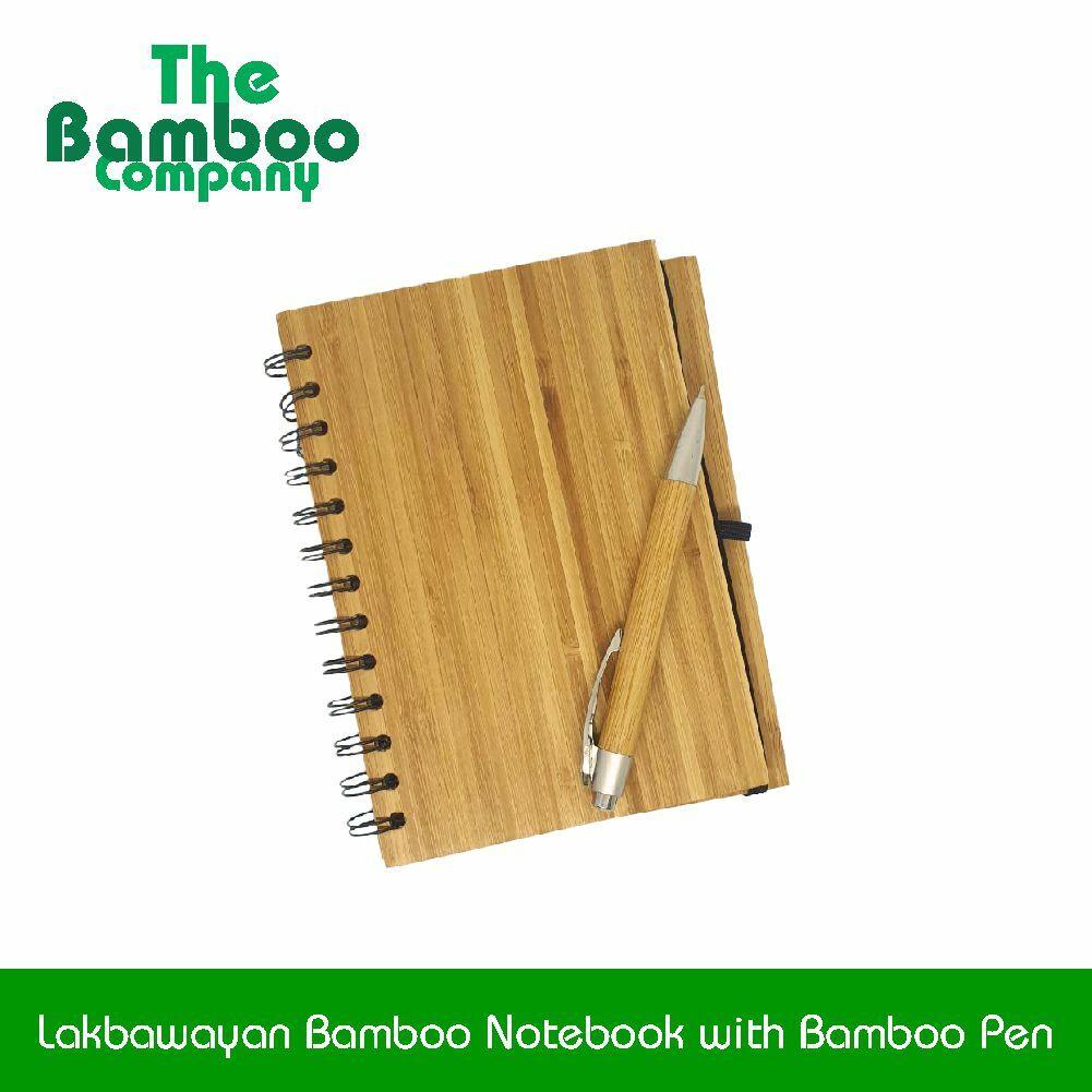 Lakbawayan Bamboo Notebook with Bamboo Pen.jpg