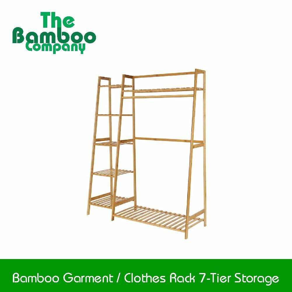 Bamboo Garment  Clothes Rack 7-Tier Storage.jpg