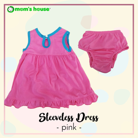 sleeveless baju dress pink back.jpg