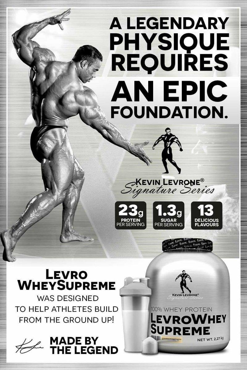LEVRO WHEY SUPREME PROTEIN – Power Magic Nutrition