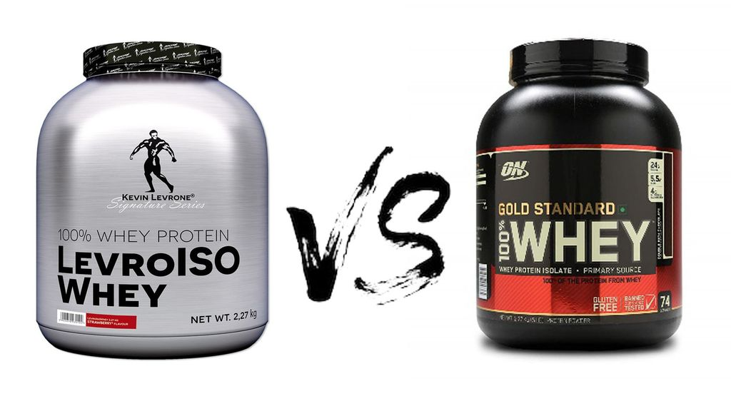 Levro Iso Whey VS Optimum Nutrition (ON) Gold standard whey protein.