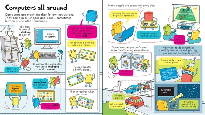 Usborne Look Inside How Computers Work Toysdirect