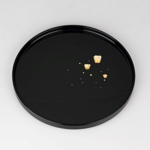 富山文創-天野漆器-80鑲貝漆器圓盤(天燈-黑).jpeg