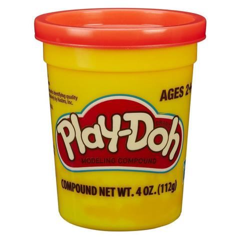 Play-Doh Single Tub - Neon Orange.jpg
