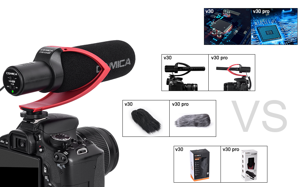 Comica V30 PRO camera video microphone