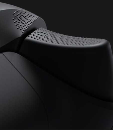 Left textured trigger on the xbox wireless controller