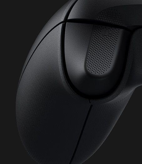 Right textured trigger on the xbox wireless controller
