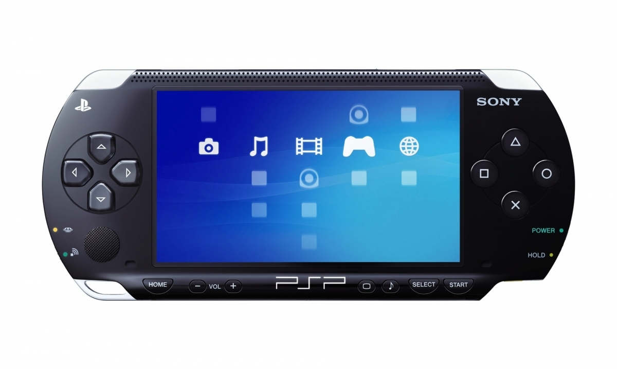 PlayStation Portable Console PSP 1000 Black (Refurbished)