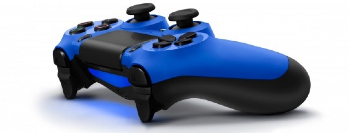 PS4 DualShock 4 Wireless Controller for PlayStation 4 - Wave Blue
