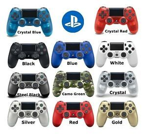 Sony Playstation DualShock 4 Wireless Controller PS4 New Colors with Warranty Free Cable