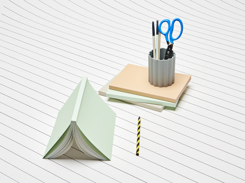 Grip Scissors_Mono Notebook_Haypencil no 5_Swirl_Iris Pen Holder.jpg