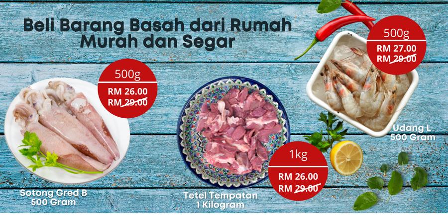 Pasar Online Malaysia : Semua Barang Segar dari Pasar Borong | Ayamkitafresh |