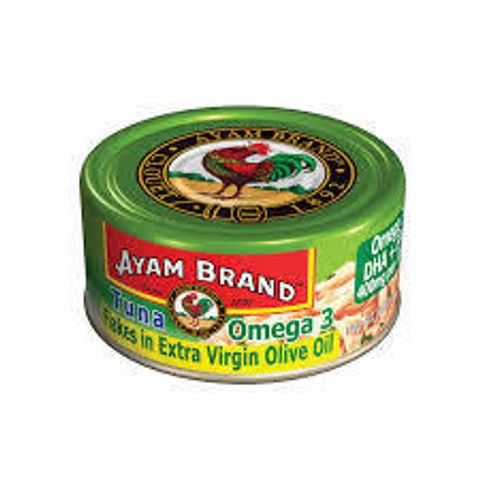 Tuna Omega 3 Flakes In Extra Virgin Olive Oil Ayam Brand