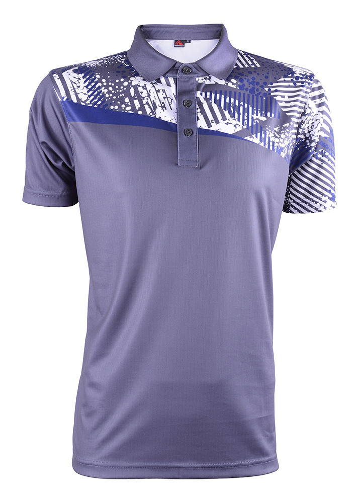 Unisex Outrefit Polo Collared Sublimation Design RGT-MOF 3424 Knight Grey