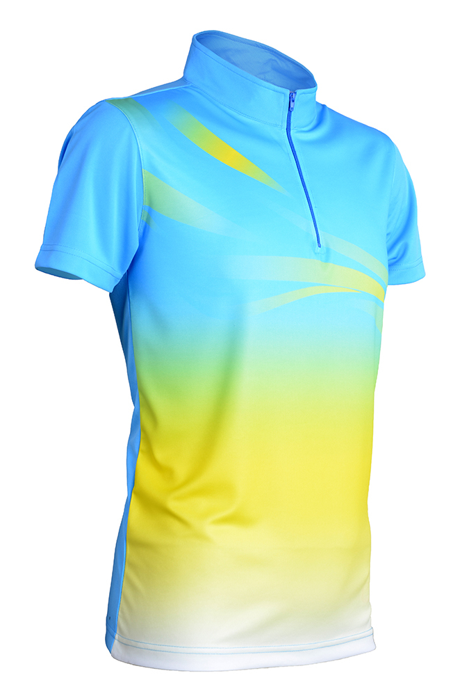 Outréfit Sublimation Series (Standing Collar with Zip) RGT-QD 4001