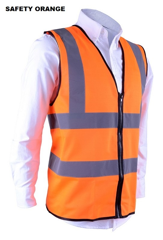 Contractor Safety Vest Unisex RGT-SV 02 Safety Orange