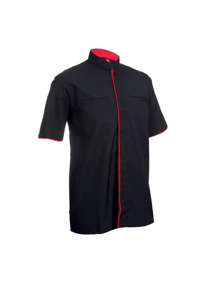 F1 Shirt / Corporate Uniform Unisex OSP-F1 1802 Black