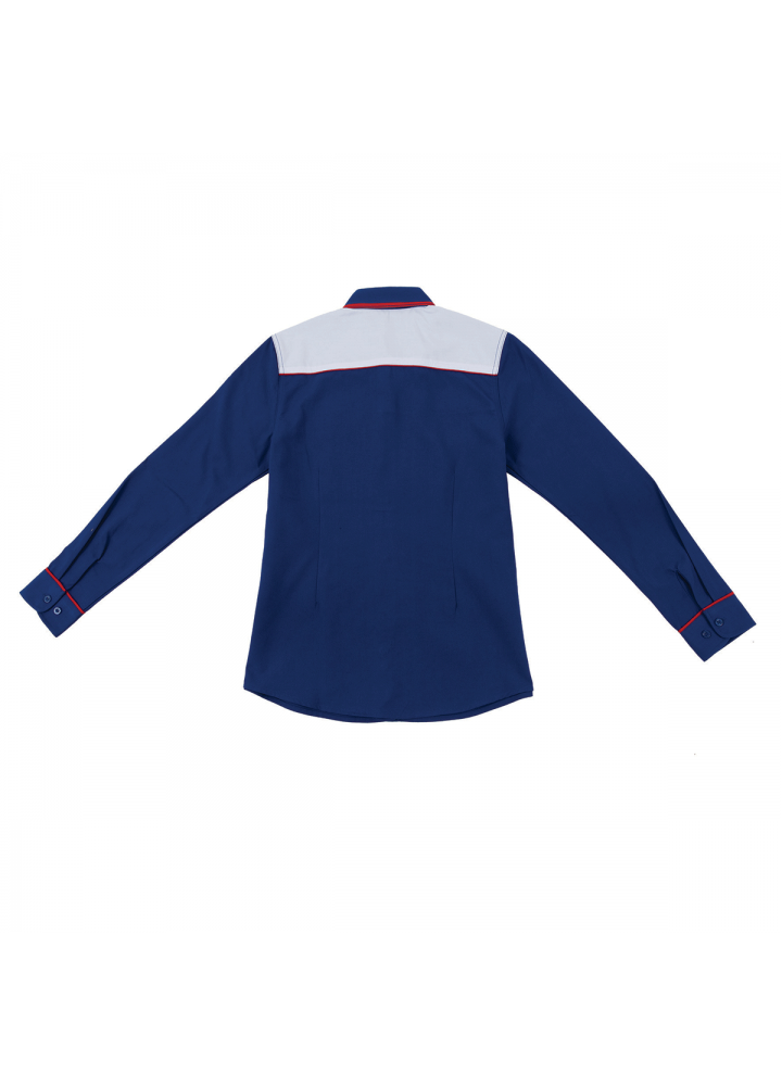 F1 Shirt / Corporate Uniform Women OSP-F1 3908 Royal