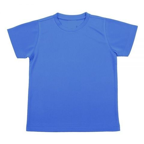 Outrefit Microfiber Kids Round Neck t shirt Royal Blue.jpeg