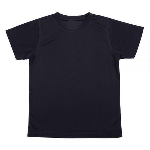 Outrefit Microfiber Kids Round Neck t shirt Pirate Black.jpeg
