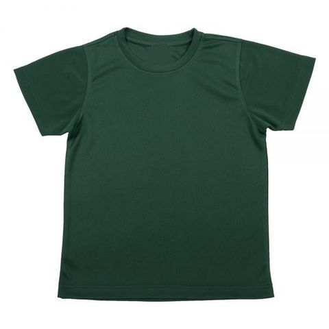 Outrefit Microfiber Kids Round Neck t shirt Army Green.jpeg