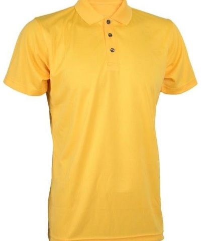 Outrefit Microfiber Collar Polo Shirt Lemon Yellow.jpg