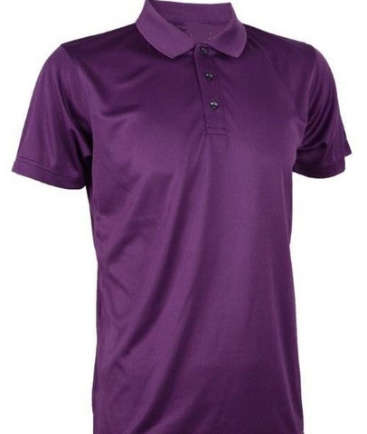 Outrefit Microfiber Collar Polo Shirt Blackberry Purple.jpg
