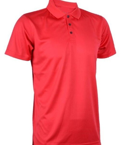Outrefit Microfiber Collar Polo Shirt Tomato Red.jpg