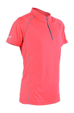 Outrefit Microfiber Reflective Zipped Design MOZ 4512 Classic Red.jpeg