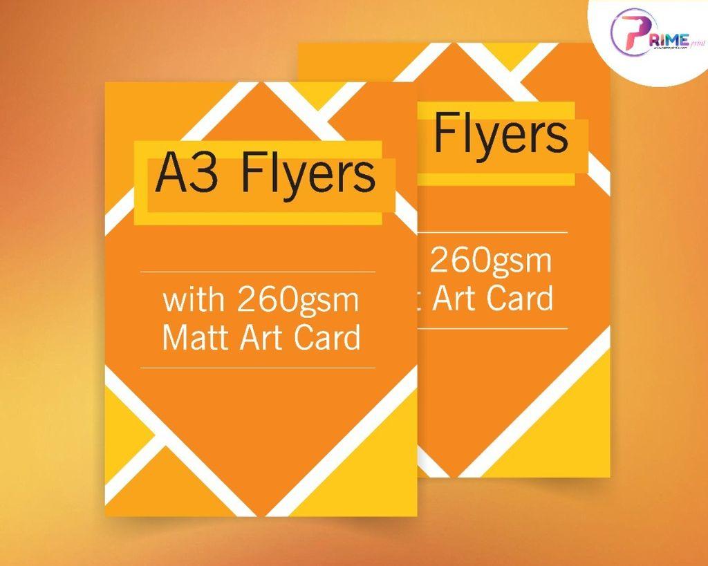 A3 Flyer with 260gsm Matt Art Card.jpg