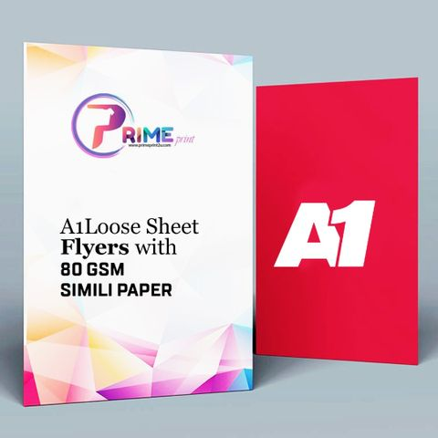A1 Loose Sheet Flyers with 80gsm Simili Paper.jpeg