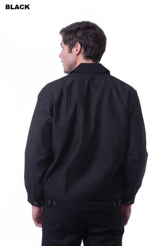 Unisex Executive Jacket RGT-PATTERN B Pirate Black