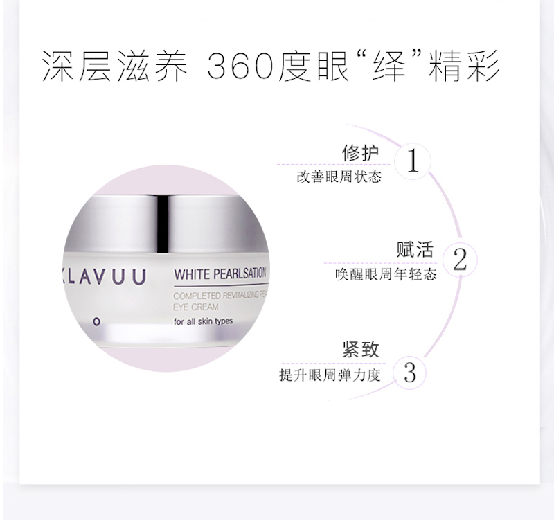 Klavuu White Pearlsation Completed Revitalizing Pearl Eye Cream (20ml) D04.jpeg