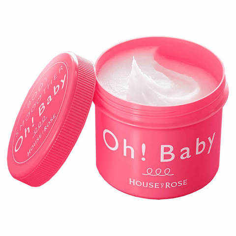 House of Rose Oh! Baby Body Smoother (570g) 日本 Oh Baby身体去角质磨砂膏 F1.jpg