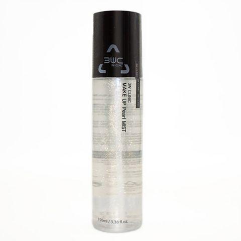 3W Clinic Make Up Pearl Mist (150ml) 3WC 黄金珠光定妆喷雾 F01.jpg