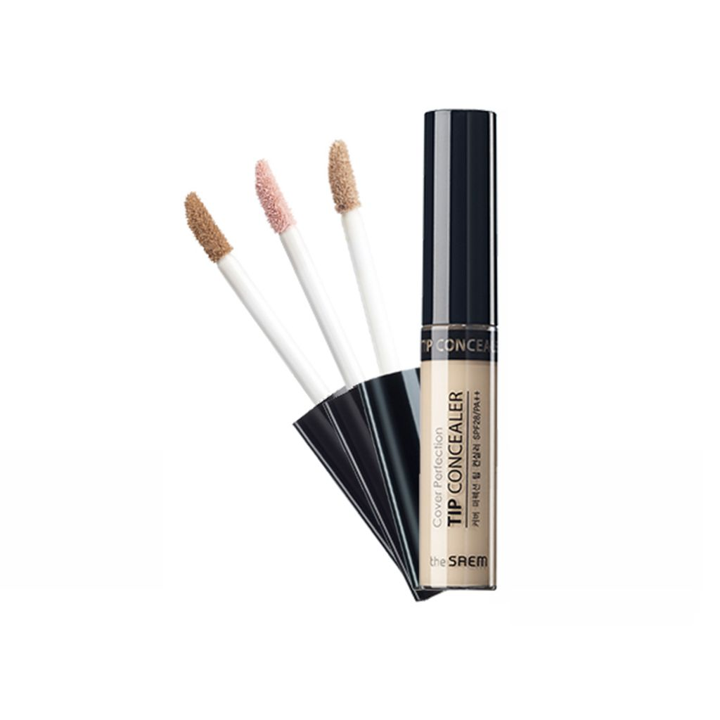 The Saem Cover Perfection Tip Concealer SPF 28:PA++ F01.jpg