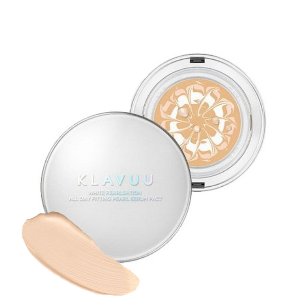 Klavuu White Pearlsation All Day Fitting Pearl Serum Pact  SPF50+ PA++++ Sunscreen (12.5g) F02.png