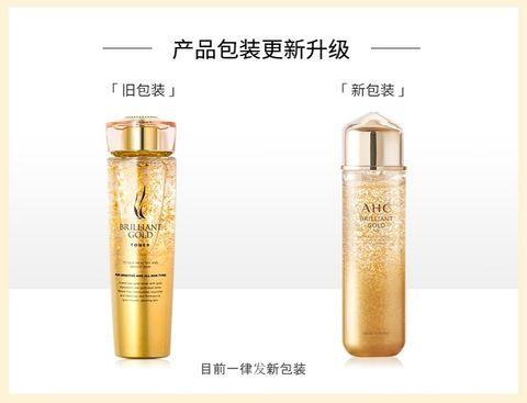 AHC Brilliant Gold Toner (140ml) AHC 黄金爽肤水 F01.jpg