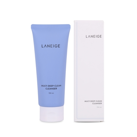 Laneige Multi Deep-Clean Cleanser (150ml) - Blue 韩国 兰芝 多效 卸妆洁面  洗面奶 F02.jpg