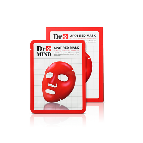 Dr. Mind Apot Red Mask (25g x 5ea).png