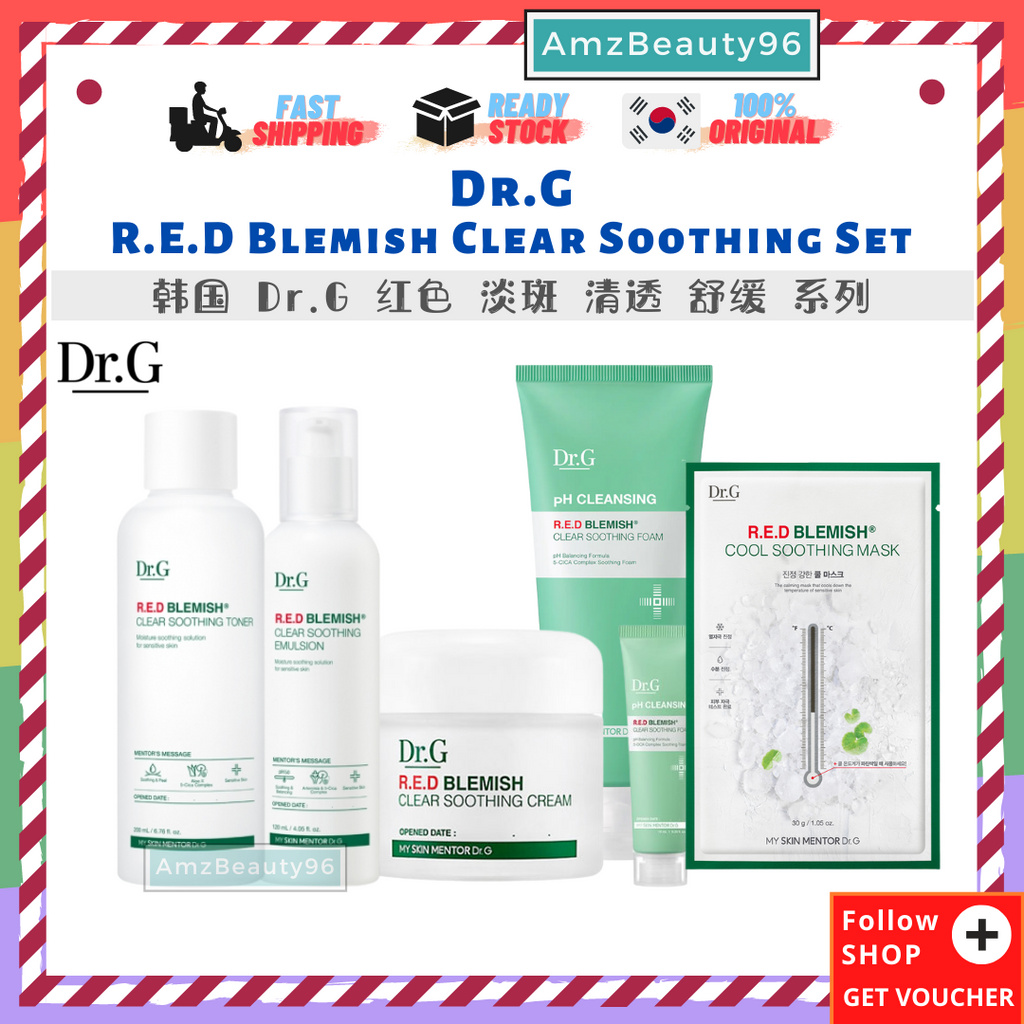 Dr.G R.E.D Blemish Clear Soothing Set 01.png