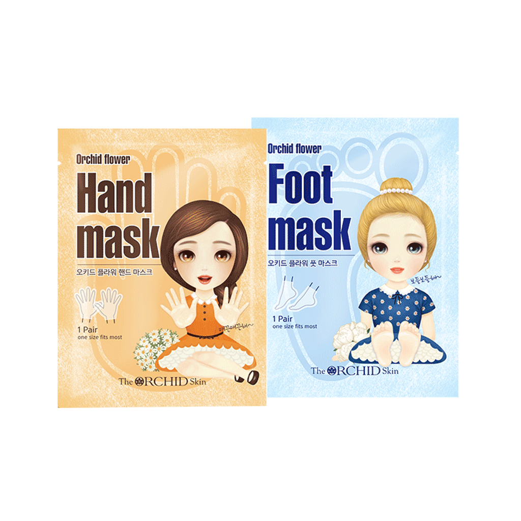 THE ORCHID SKIN Orchid Flower Hand&Foot Mask.png