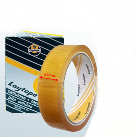 Cellulose Tape 24 mm x 40 m ( Loytape ) 1.png