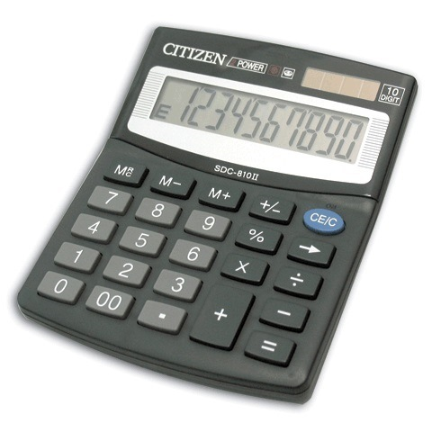 Citizen Calculator SDC 810II 1.jpg