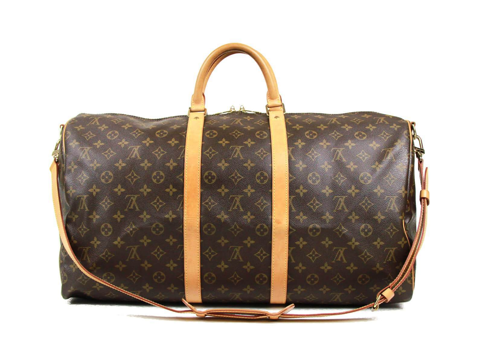 1ddc954495b4 Home › AUTHENTIC LOUIS VUITTON MONOGRAM LEATHER KEEPALL BANDOULIERE 55  M41414. SOLD OUT IMG 0261 1263b808-c7c0-4c5b-a740-f09a7c306065.jpg